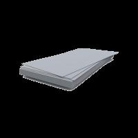 Шифер плоский полоса для грядок 1750х250х8мм